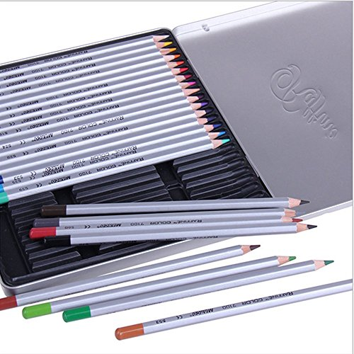 SUNYOU Premier Soft Core Art Colored Drawing Pencils For Artist Sketch Adult Secret Garden Coloring