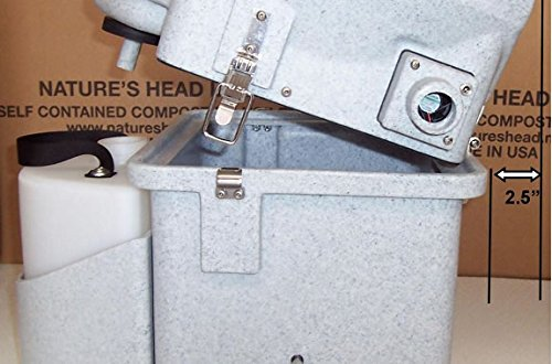 Nature's Head Composting Toilet with Spider Handle by Nature's Head (Image #6)