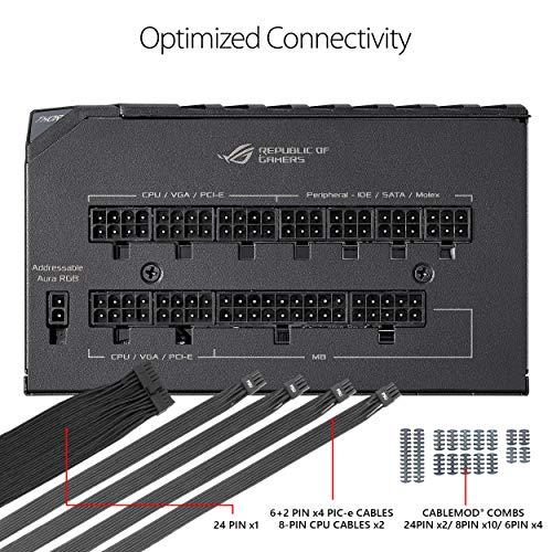 Asus 850 W 80+ Platinum Certified Fully Modular ATX Power Supply
