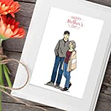 Custom Portrait of Mother And Baby - Meaningful Gifts For Mom - Bespoke Unusual Ideas She Will Love