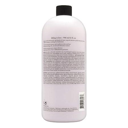 Philosophy Philosophy Falling In Love 32.0 Oz Shampoo, Bath Shower Gel, 32.0 Oz