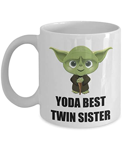 Yoda Best Twin Sister Birthday Gifts For Present