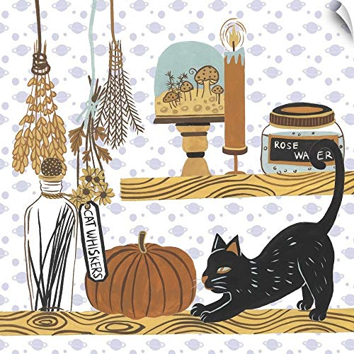 CANVAS ON DEMAND Halloween Prep IV Wall Peel Art Print, 35