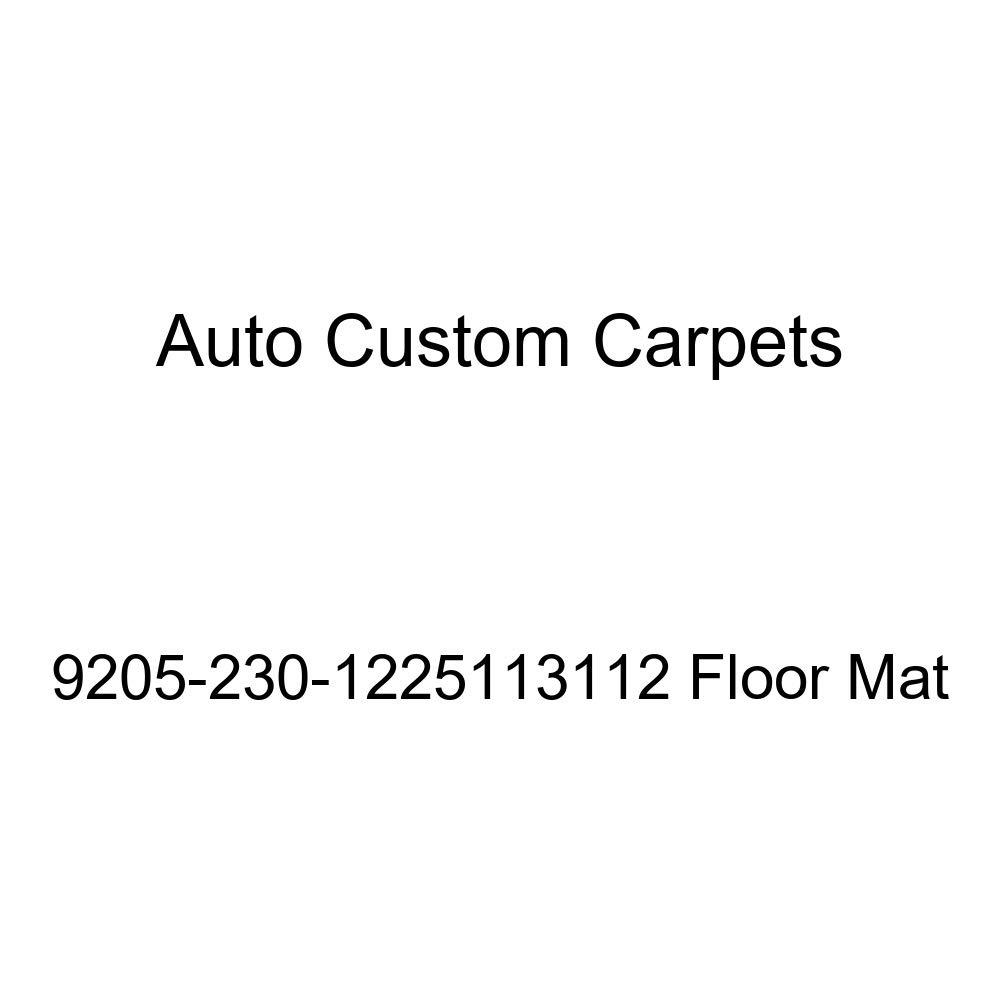 Auto Custom Carpets 9205-230-1225323100 Floor Mat
