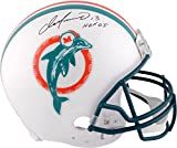 """Dan Marino Miami Dolphins Autographed Pro Line Riddell Authentic Throwback Helmet with HOF 2005"""" Inscription - Fanatics Authentic Certified"""