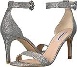 L.K. Bennett Women's Dora Silver Fine Glitter Sandal