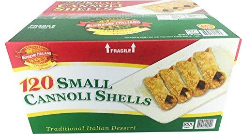 Supremo Italiano 120 Small Cannoli Shells Buy Online In