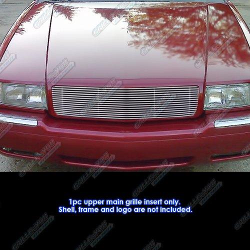APS A86814A Polished Aluminum Billet Grille Replacement for select Cadillac Eldorado Models - Cadillac El Dorado Model Car