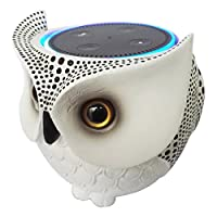 Owl Statue Crafted Guard Station for Amazon Echo Dot 2nd and 1st - BFF For Al...
