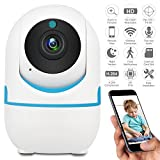 Cheap DEFEWAY 1080P Wireless IP Camera,Home WiFi Security Surveillance Camera for Baby/Elder/Pet/Nanny Monitor,Pan/Tilt, Two-Way Audio E1W (White)