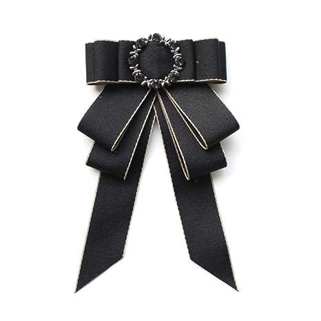 DYDONGWL Corbata Fina Hombre,Corbata de moño Casual Versión para ...