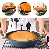 9 Inch Pie Pan,Silicone Quiche Pan Pie Mold Round