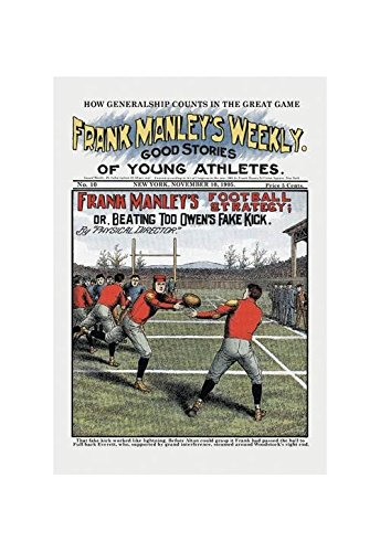 Buyenlarge Frank Manley's Football Strategy Print (Unframed Paper Print 20x30)