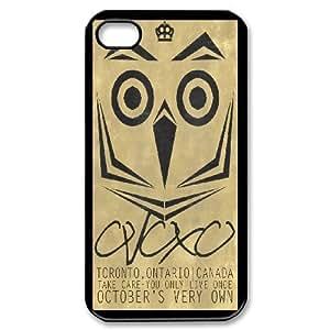 iPhone 4,4S Phone Case Drake Ovo Owl F5E7888