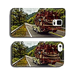pickup overloaded with house utensils. cell phone cover case iPhone6 Plus