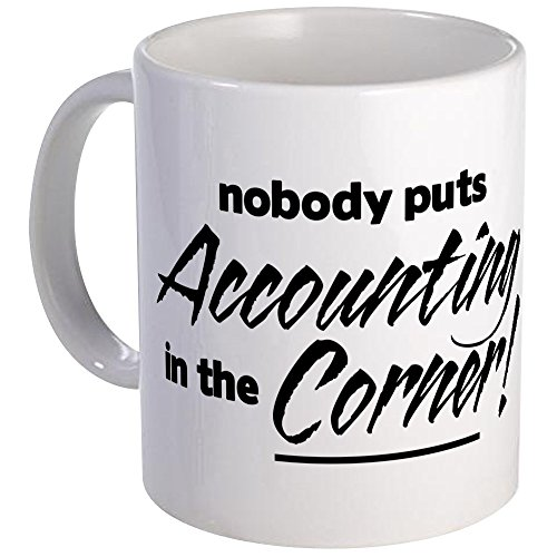 (CafePress - Accounting Nobody Corner Mug - Unique Coffee Mug, Coffee Cup)