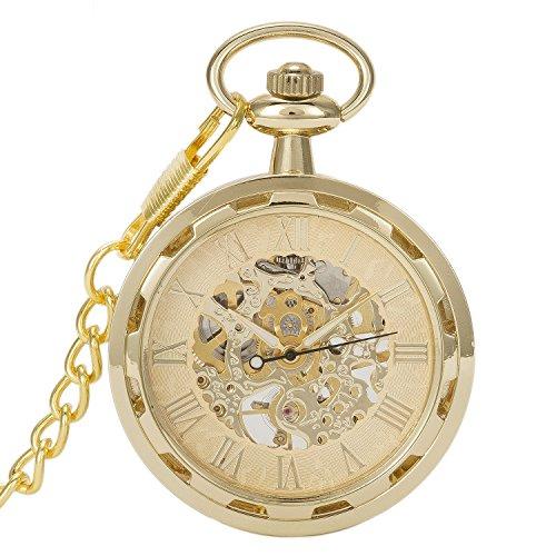 Gold Face Pocket Watch - 2