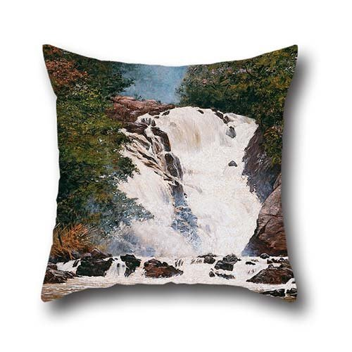 oil-painting-almeida-jnior-votorantim-waterfall-throw-pillow-case-18-x-18-inches-45-by-45-cm-best-ch