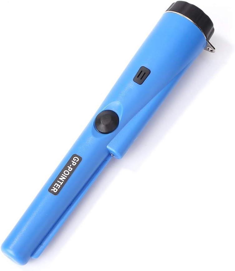 Basage GP Pointeur D/éTecteur de M/éTal Bleu Poche Pin Pointeur Souterrain Profondeur DOr D/éFinir Pinpointer