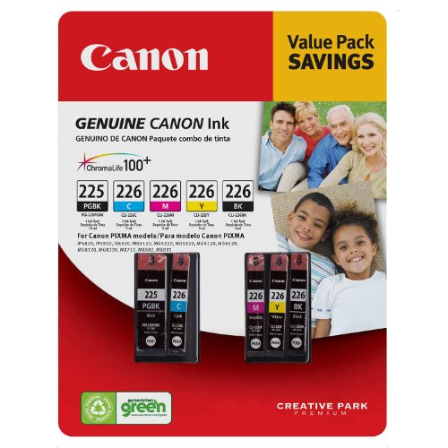 Canon PGI-225/CLI-226 - 5 pk. (225 Bk Canon Ink)
