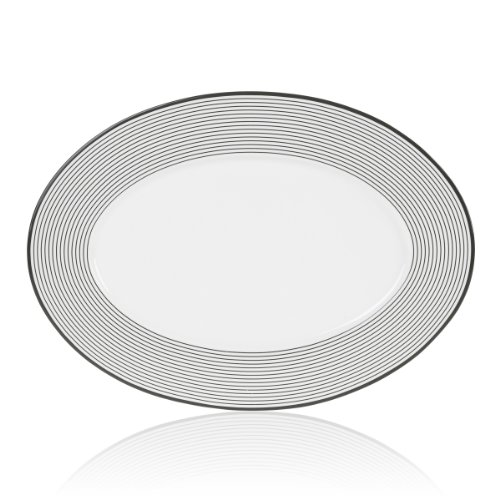 Mikasa Cheers Rings 16-Inch Oval Platter
