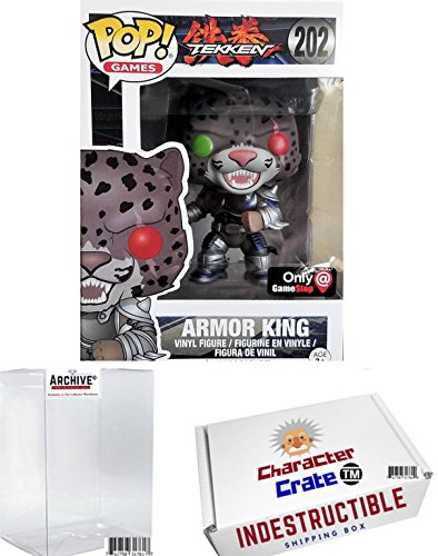 Funko Pop! Tekken Armor King Blue Metallic Chase Exclusive