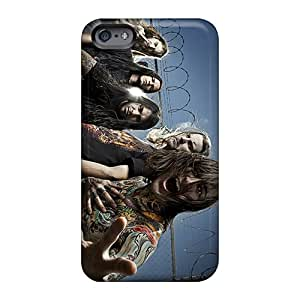 KennethKaczmarek Apple Iphone 6s Plus Shock Absorption Hard Cell-phone Cases Customized Nice Suicide Silence Band Pattern [Zpr679njpL]