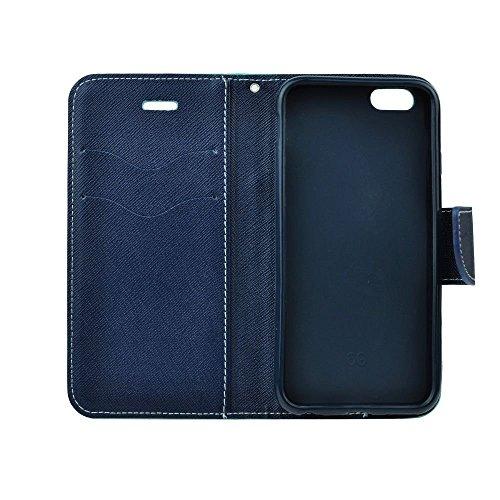 """Stylisches Bookstyle Handytasche Flip Case Wallet für """"Apple Iphone SE"""" Handy Schutz Hülle Etui Schale Cover Book Case türkis-blau"""