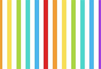 9x16 FT Vinyl Photography Background Backdrops,Doodle Style Random Wavy Stripes with Big Small Spots Kids Art Theme Background for Child Baby Shower Photo Studio Prop Photobooth Photoshoot