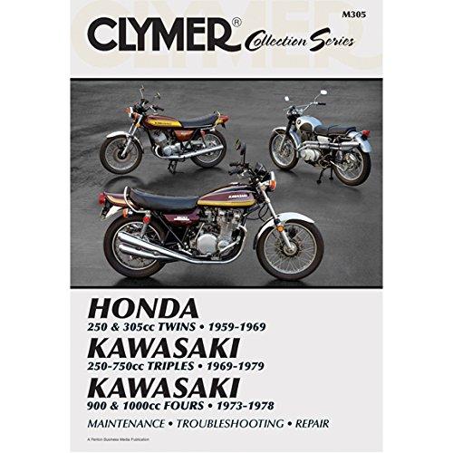 Clymer Repair Manual Vintage Japan Street Bikes