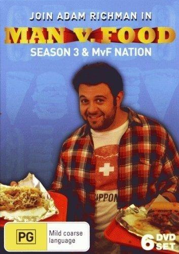 Man Vs Food - Season 3 + Nation Collection