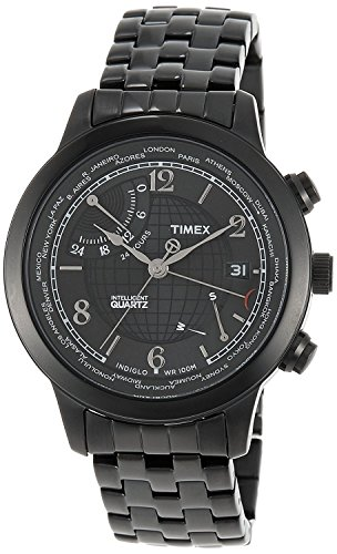 Timex-Intelligent-Quartz-Analog-Black-Dial-Mens-Watch-T2N614