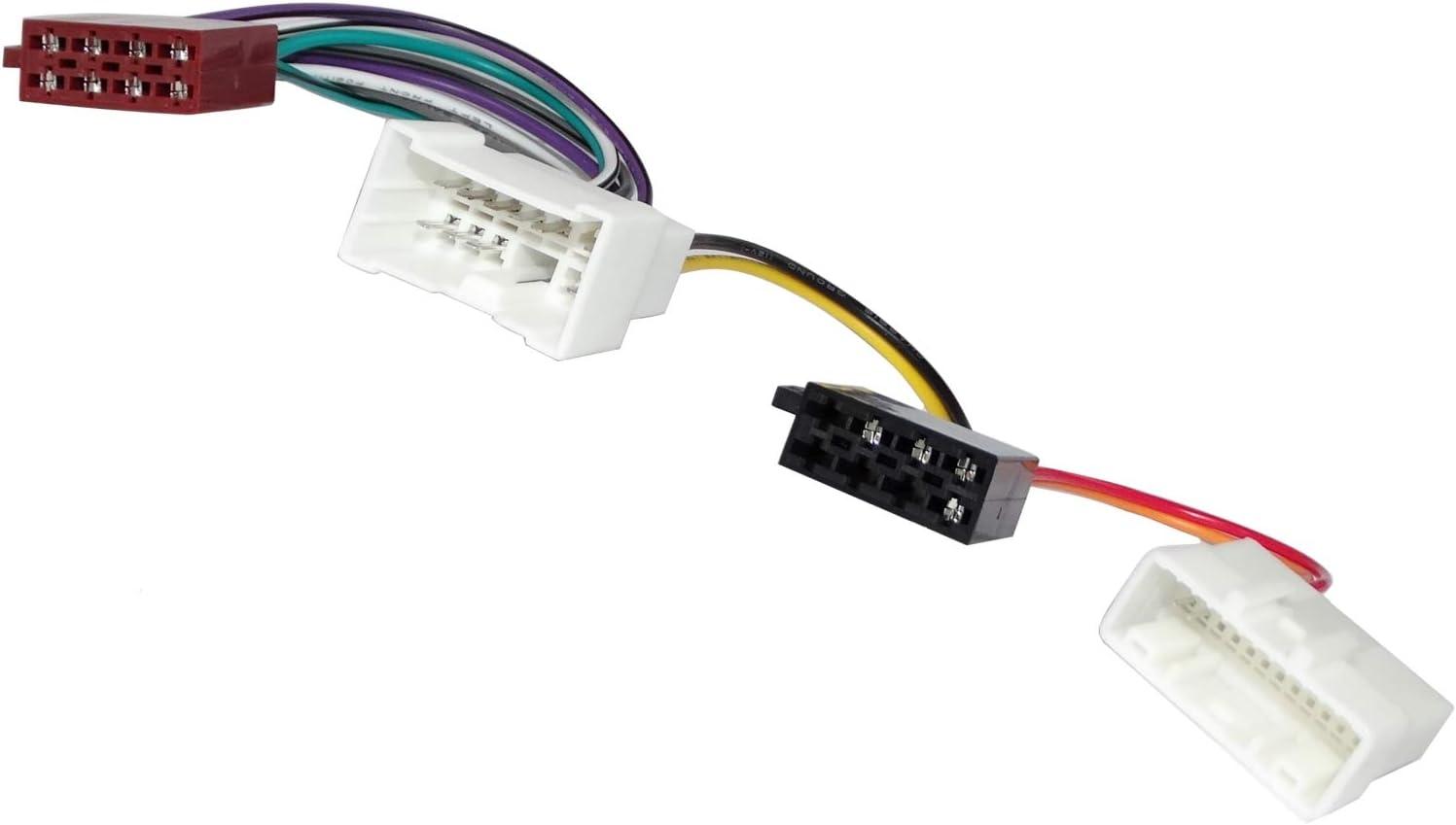 Dacia Renault ISO Faisceau de c/âblage connecteur adaptateur pour autoradio