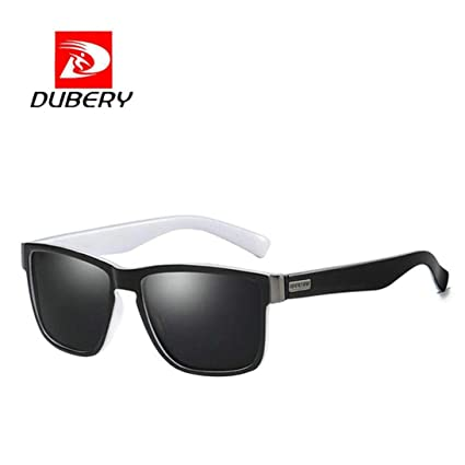 a2d25205232 DUBERY Sunglasses New Men s Polarized Sunglasses Outdoor Driving Men Women  Sport Frame Fishing Hunting Boating Glasses