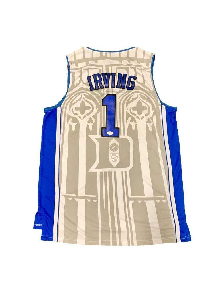 release date: 07f21 759af Kyrie Irving Autographed Signed Duke Blue Devils Home White ...