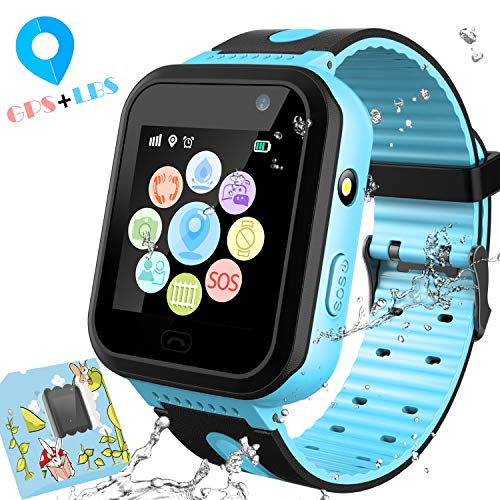 3G Kids Smart Watches GPS Tracker - Kids Android Smart Watch Phone for Boys  Girls with 1 4