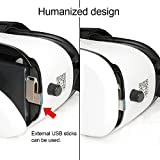VR Goggles   3D Virtual Reality Goggles   VR Headset iPhone 7 Plus, 6, 5   VR Headset for Samsung Phones   VOX+ Z3 3D VR Goggles Are A Perfect Accessory For All iOS, And Android Phones.