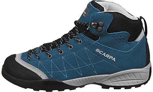 Scarpa Zen Mid Kids Waterproof Blau
