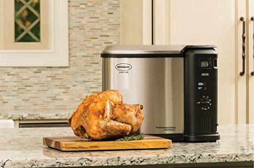Butterball MB23010618 Masterbuilt Fryer, XL, Stainless Steel