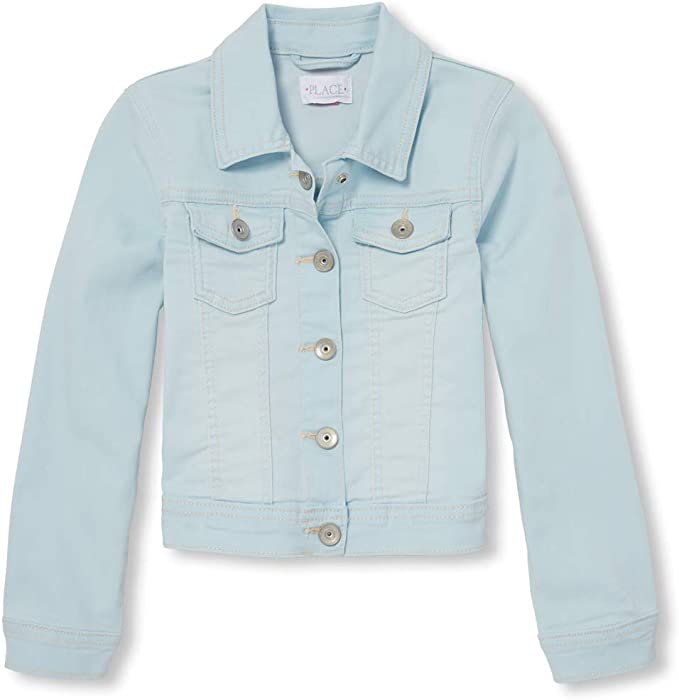 2f24de1abfe5 Amazon.com  The Children s Place Big Girls  Denim Jacket
