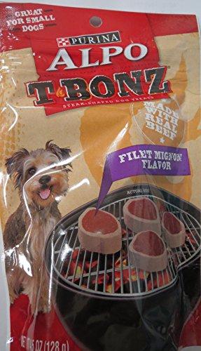 Alpo TBonz Filet Mignon Flavor Steak-Shaped Dog Treats Filet Mignon Flavor Mignon Steak Flavor