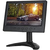 Eyoyo 7 inch TFT LCD HDMI Monitor 1024x600 With HDMI VGA BNC AV Input with Built-in Speakers