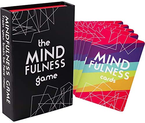 Mindfulness Therapy Games: Social Skills Game That Teaches Mindfulness for Kids, Teens and Adults Effective for Self Care, Communication Skills 40 Cards for Play Therapy