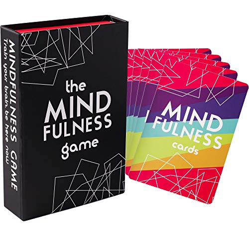 Mindfulness Therapy Games: Social Skills Game That Teaches Mindfulness for Kids, Teens and Adults | Effective for Self Care, Communication Skills | 40 Cards for Play Therapy (Word Thief Game)