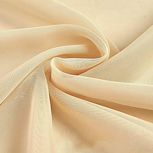 Event Decor Direct Crushed Sheer Voile Curtain Panel