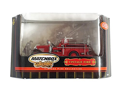 Matchbox Collectibles Vintage Fire Collection - 1932 Ford AA Open-Cab Fire - Engine Ford Fire 1932