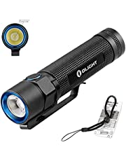 Olight S2 Baton Torches 950 Lumens CREE XM-L2 LED EDC Torch Variable-Output Side-Switch Portable Flashlight