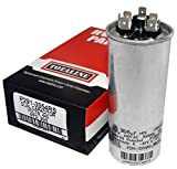 TOTALINE 35 + 5 MFD uf P291-3554RS 370 or 440 Volt Dual Run Round Capacitor made by Carrier for Condenser Straight Cool or Heat Pump Air Conditioner CBB65B