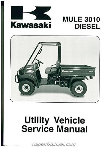 99924 1306 05 2003 2007 kawasaki kaf950 mule 3010 diesel side by rh amazon com 2006 kawasaki mule 3010 service manual pdf Kawasaki Mule 3010 Fuel Pump Relay Location