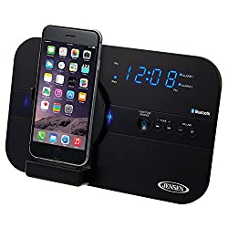 Jensen JiLS-525iB Bluetooth Docking Digital Music System for Lightning Connector Devices